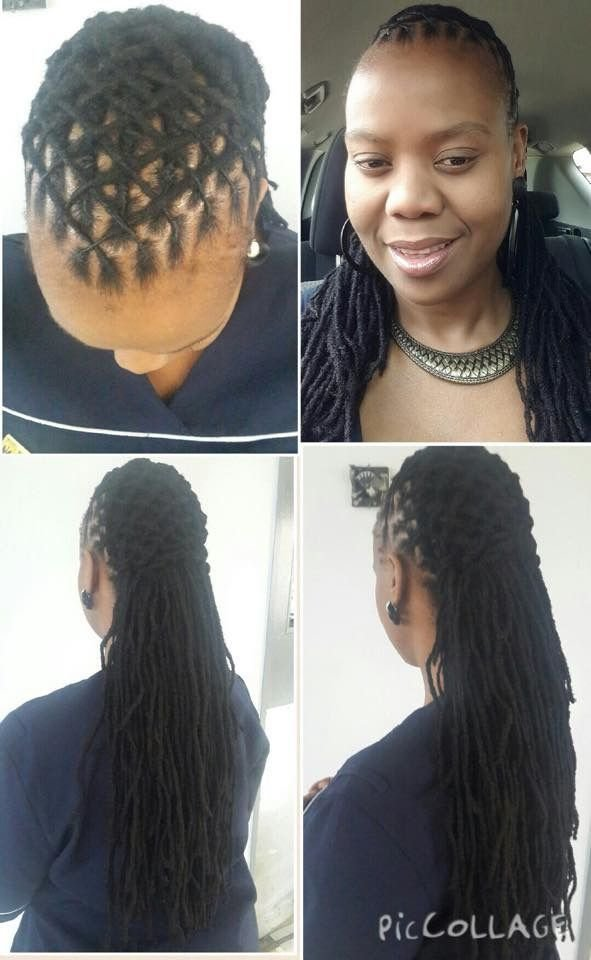 New Locs From Sa Hairstyles Beautiful Loc Styles Hair Ideas With Pictures