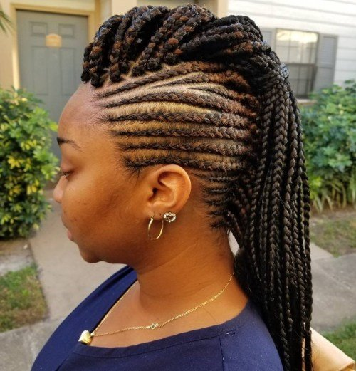 New 70 Best Black Braided Hairstyles That Turn Heads In 2019 Ideas With Pictures Original 1024 x 768