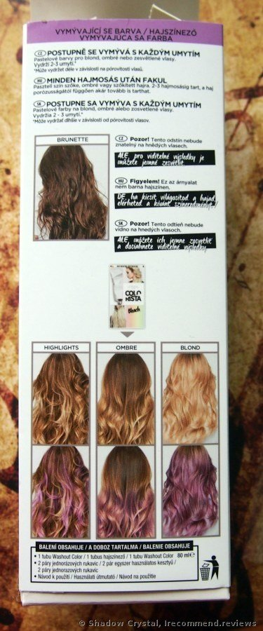 New L Oreal Colorista Semi Permanent Hair Color «Great Stuff Ideas With Pictures