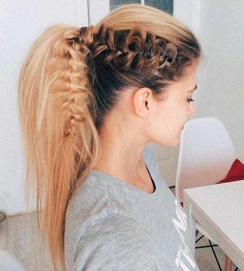 New 40 High Ponytail Ideas For Every Woman Ideas With Pictures
