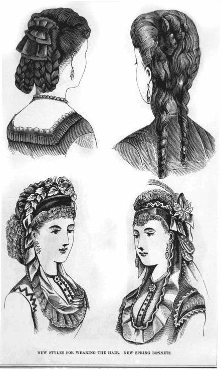 New The Hottest Hairstyles From 1870 Click Americana Ideas With Pictures