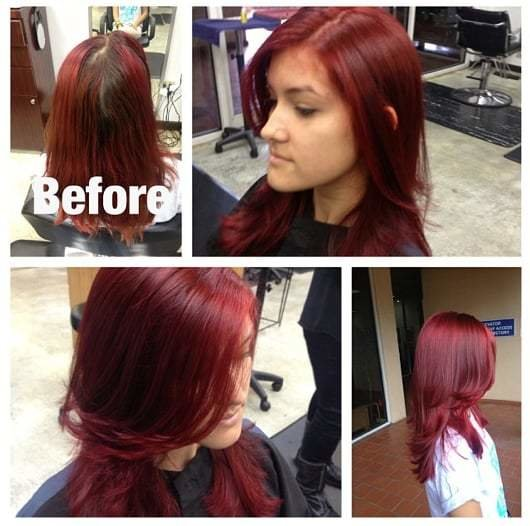 New Red Hair Color Correction By Taryn G Yelp Ideas With Pictures