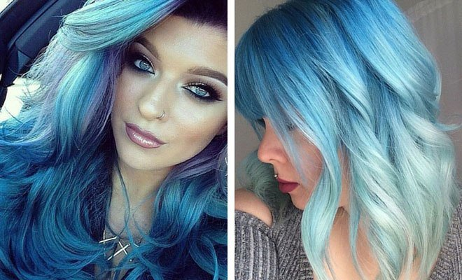 New 29 Blue Hair Color Ideas For Daring Women Stayglam Ideas With Pictures