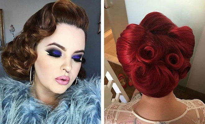 New 21 Pin Up Hairstyles That Are Hot Right Now Page 2 Of 2 Stayglam Ideas With Pictures