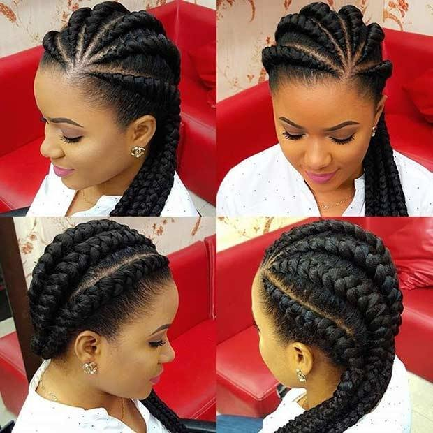 New 51 Best Ghana Braids Hairstyles Stayglam Ideas With Pictures