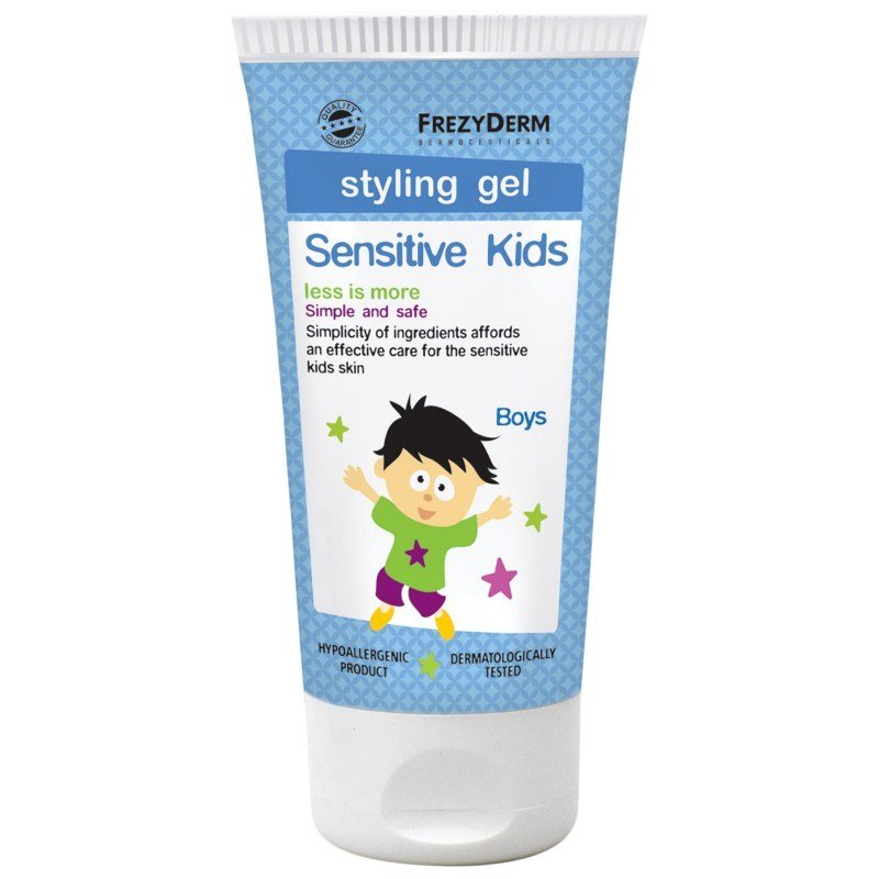 New Frezyderm Sensitive Kids Hair Styling Gel 100Ml Ideas With Pictures