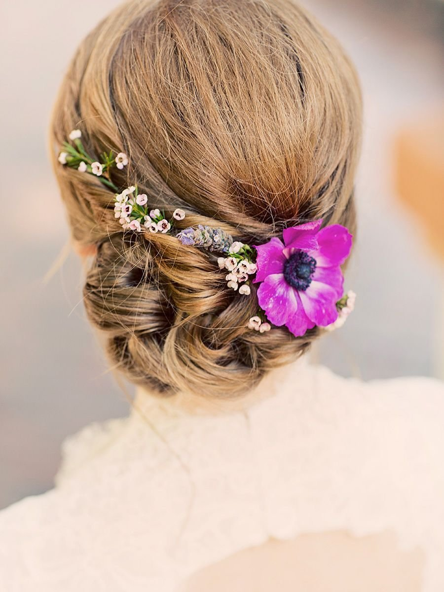 New 17 Wedding Hairstyles For Long Hair With Flowers Ideas With Pictures