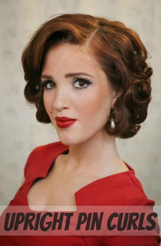 New Day 27 Of 30 Styles In 30 Days Pin Curls – Rowan January Ideas With Pictures