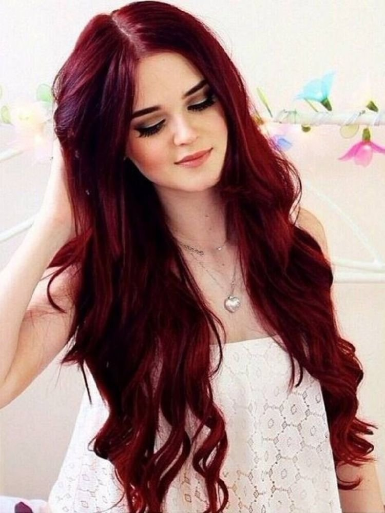 New 30 Best Dark Red Brown Hair Color Shades You Should Try Ideas With Pictures