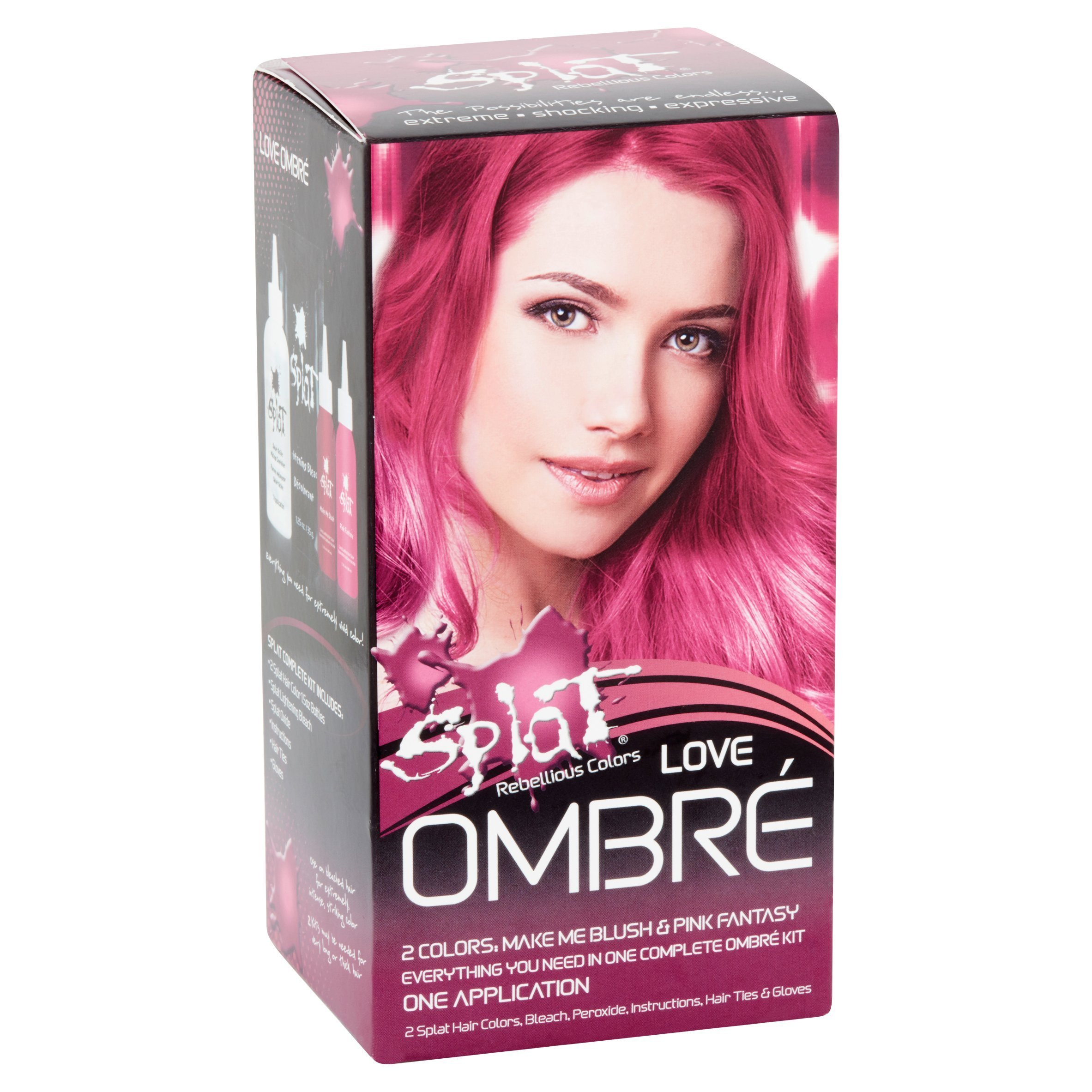 New Splat Rebellious Colors Semi Permanent Complete Kit Ideas With Pictures