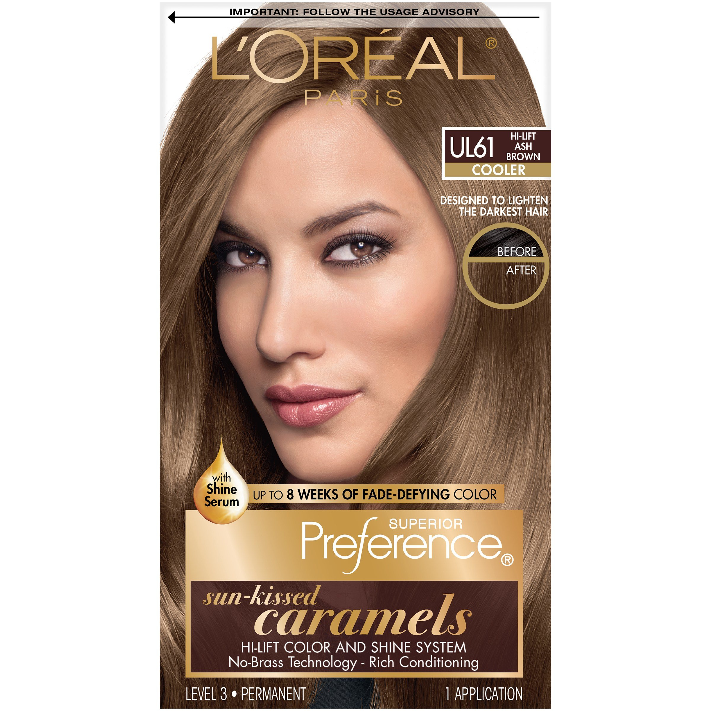 New Bxc L Oreal Superior Preference Ul61 Hi Lift Ash Brown Ideas With Pictures