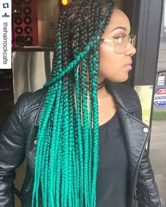 New Box Braids With Color 30 Colored Box Braids Styles Ideas With Pictures