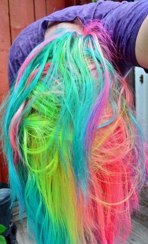 New Diy Hair 10 Ways To Dye Colorful Hair Bellatory Ideas With Pictures