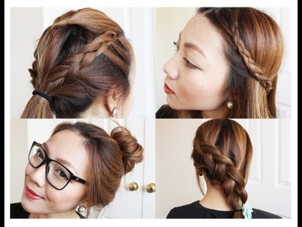 New Cute Hairstyles For Medium Hair For School Hairstyle For Ideas With Pictures