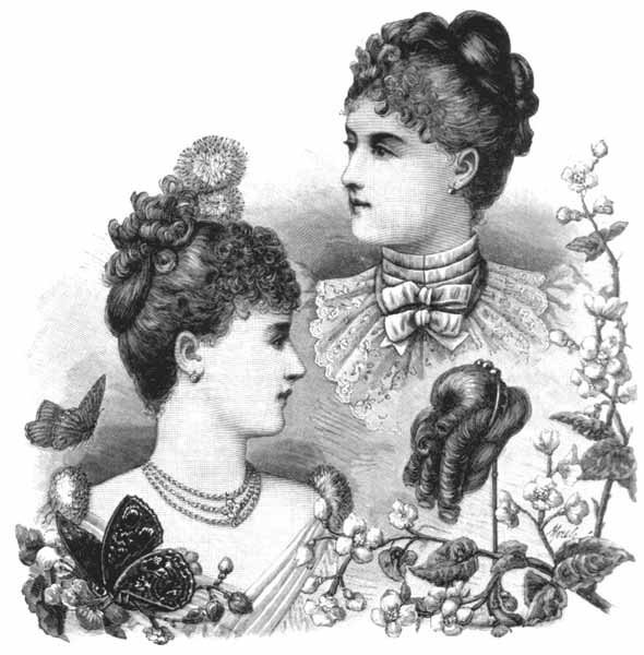 New 1880S Evening Hairstyle Ideas With Pictures
