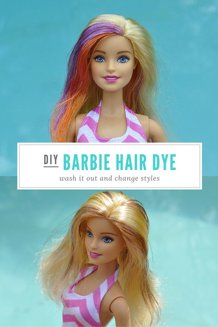 New Diy Wash Out Barbie Hair Dye – Be A Fun Mum Ideas With Pictures Original 1024 x 768