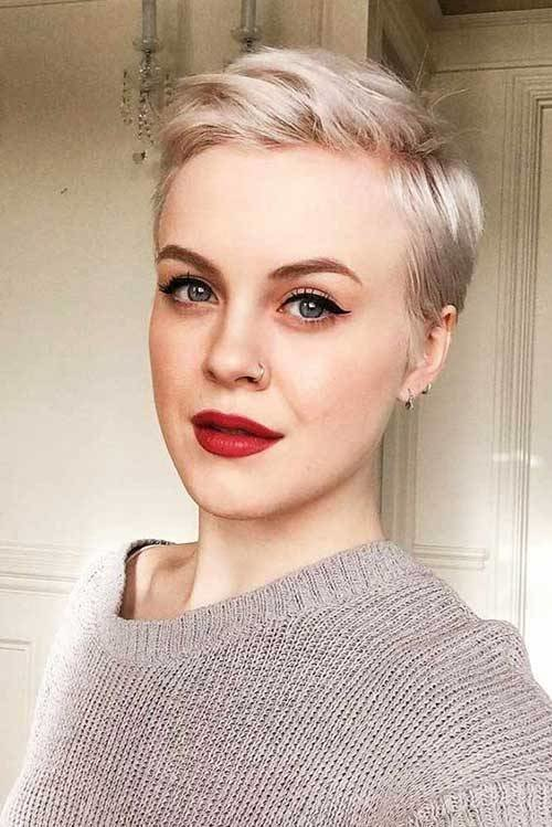 New 2019 Trend Short Haircuts For Fine Hair Short Hair Models Ideas With Pictures