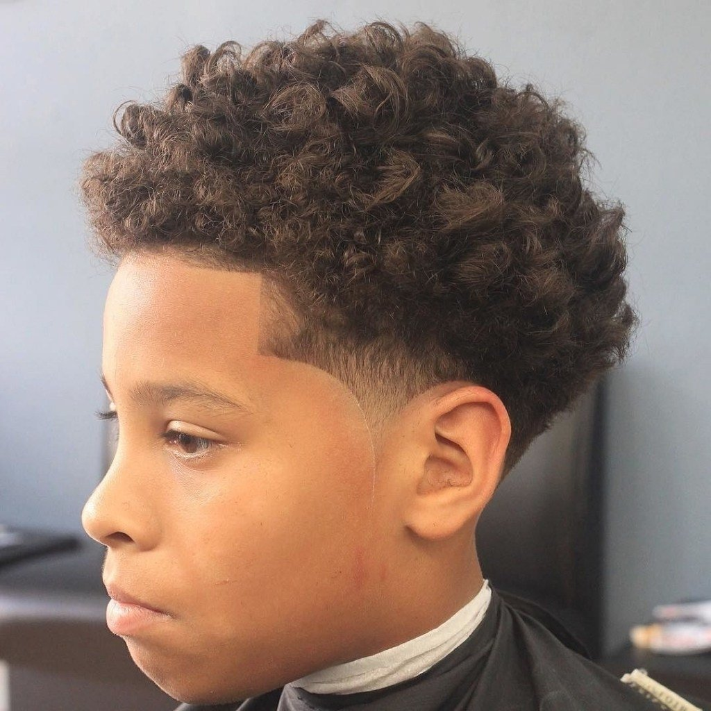 New Haircut For Curly Hair Boy Uphairstyle Ideas With Pictures