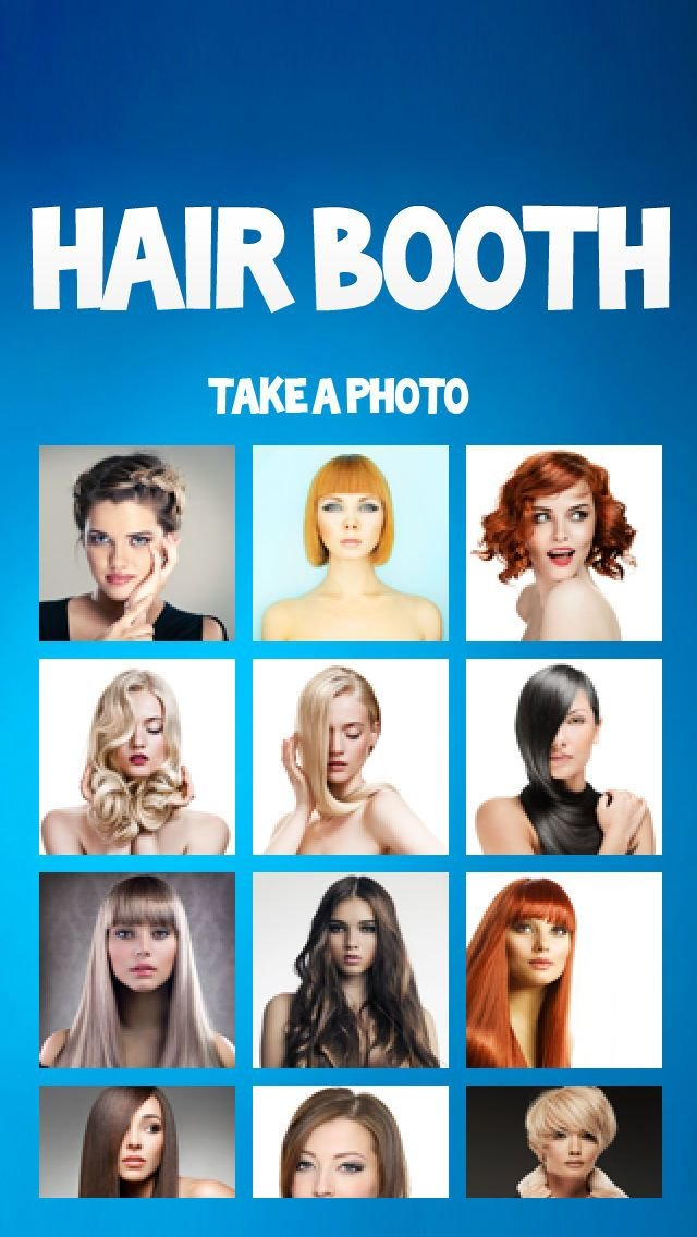New Hair Booth Salon Free Try A New Hairstyle Today App Ideas With Pictures