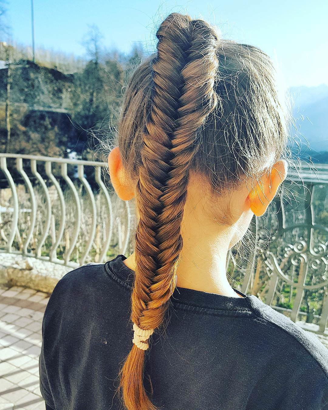 New 25 Fishtail Braid Hairstyle Designs Ideas Design Ideas With Pictures