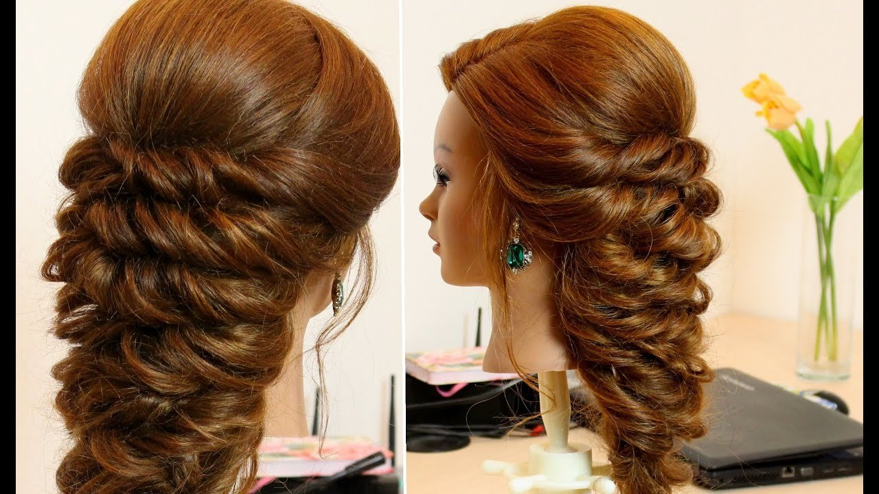 New Easy Hairstyle For Long Hair Tutorial Youtube Ideas With Pictures