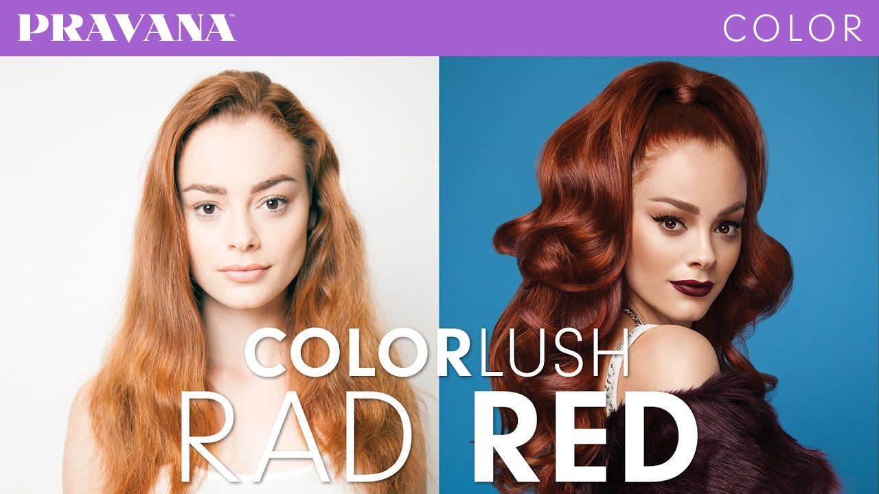 New How To Rad Red Demi Permanent Hair Color With Colorlush Youtube Ideas With Pictures