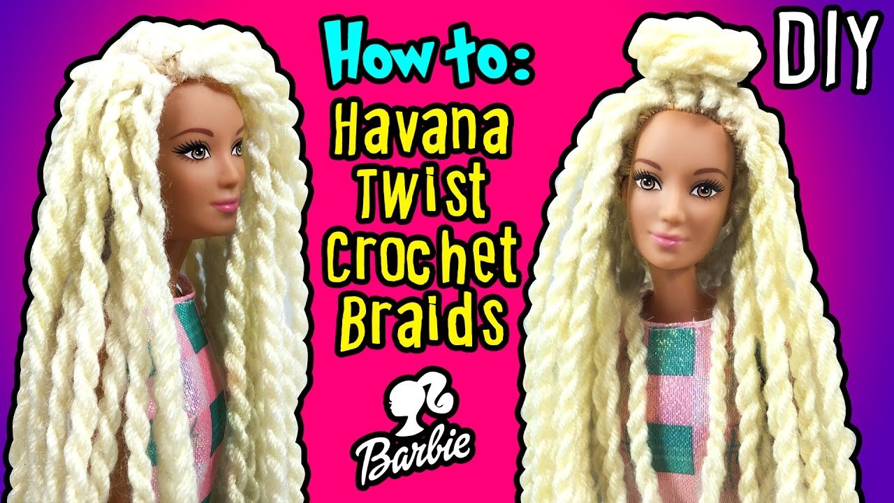 New How To Make Havana Twist Crochet Braids Hair With Barbie Ideas With Pictures Original 1024 x 768