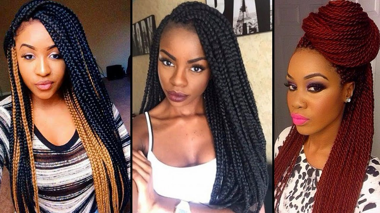 New Braids Hairstyles For Black Women 2018 2019 New Black Ideas With Pictures