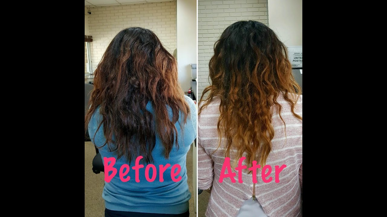 New Curly Hair Routine For Type 2B 2C Hair Youtube Ideas With Pictures