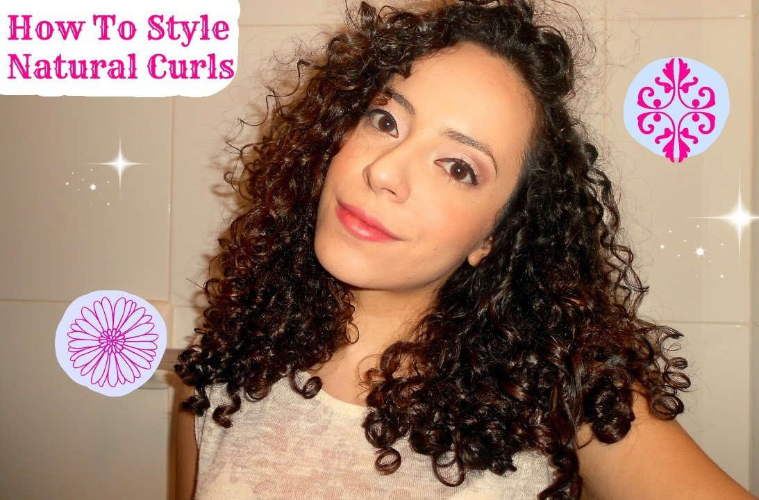 New How To Style Natural Curly Hair Type 3A 3B Hair Youtube Ideas With Pictures