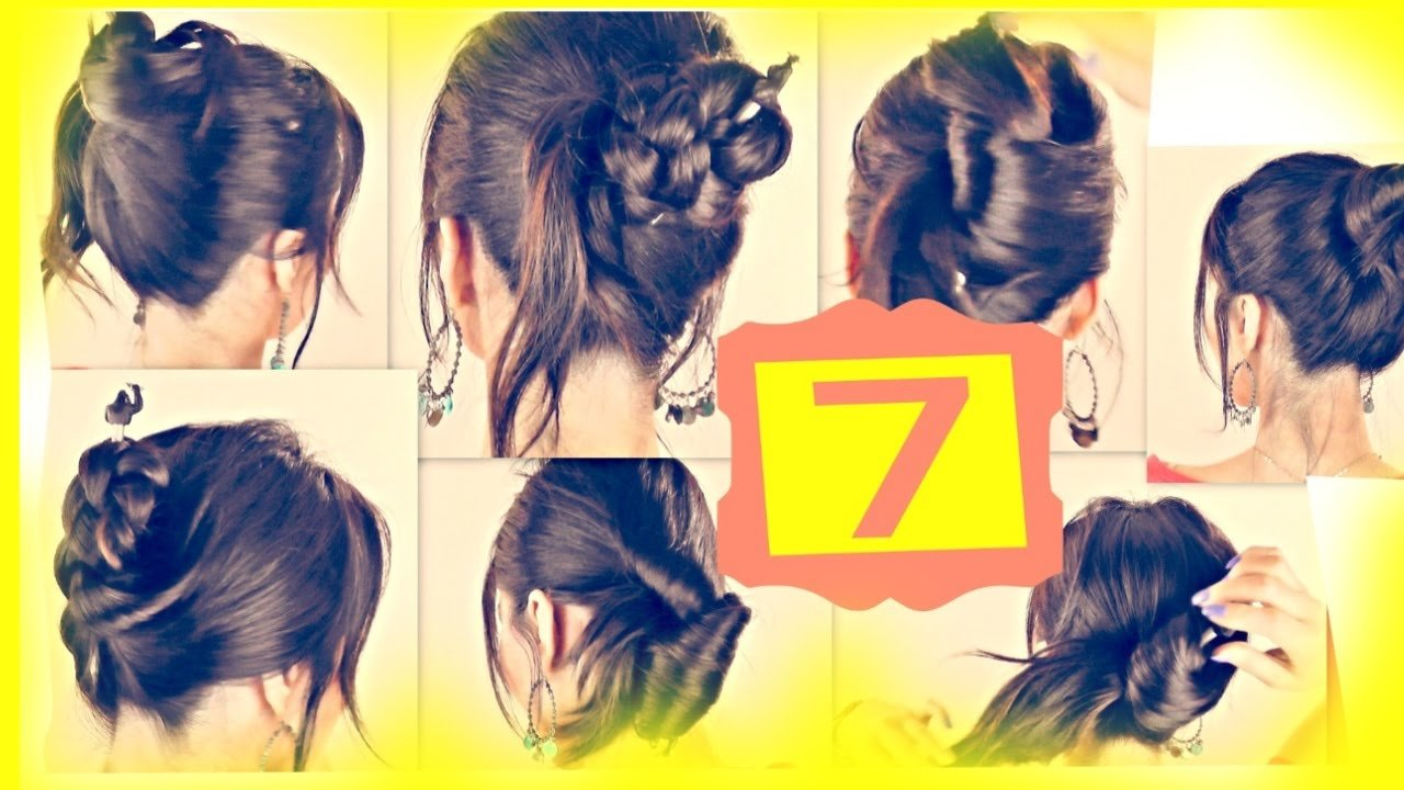 New Seven ★ 1 Minute Hairstyles With Just A Pencil Easy Updo Ideas With Pictures Original 1024 x 768
