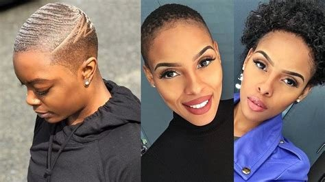 New Ultra Short Haircuts For Black Women 2019 Short Hair Ideas With Pictures