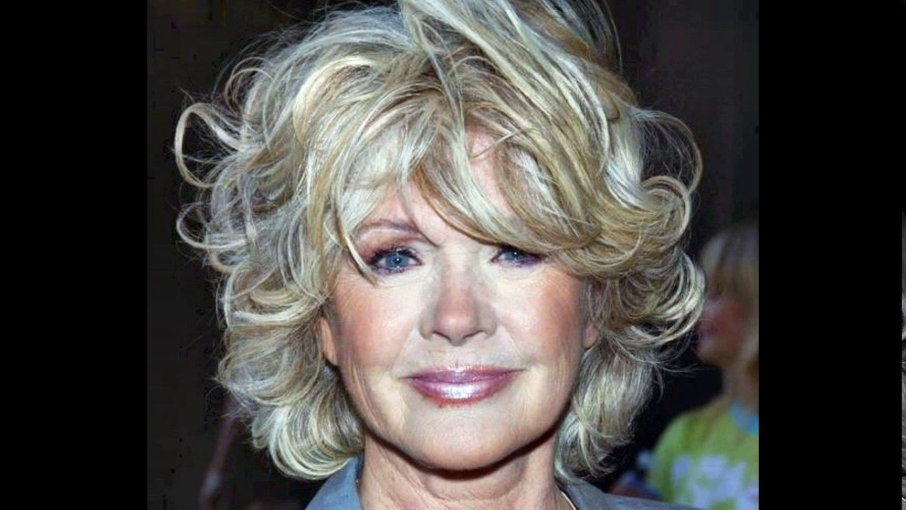 New Short Haircuts For Women Over 60 With Curly Hair Youtube Ideas With Pictures