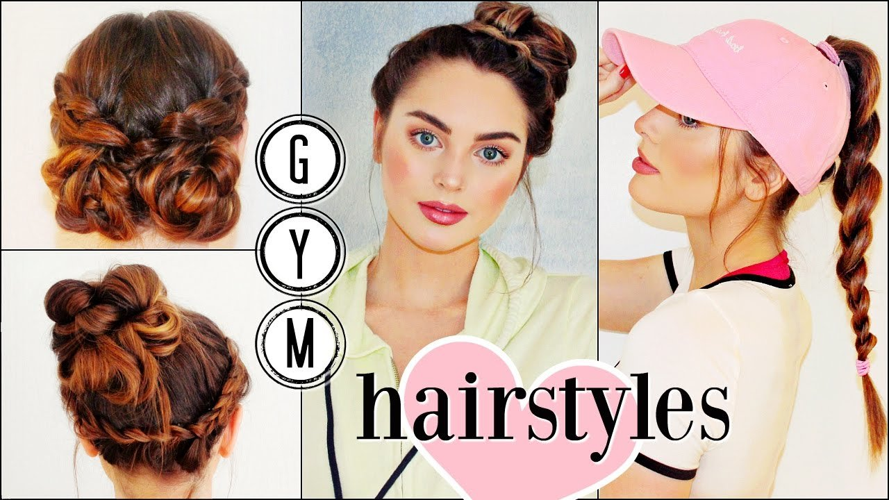New Gym Hairstyles For Long Hair Sporty Hair Hacks Youtube Ideas With Pictures