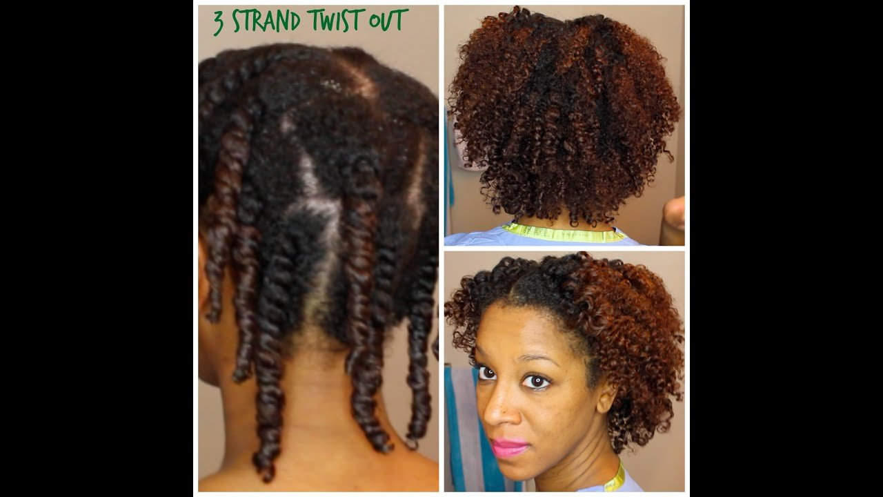 New How To Do A 3 Strand Twist Out Heat Damaged Natural Hair Ideas With Pictures