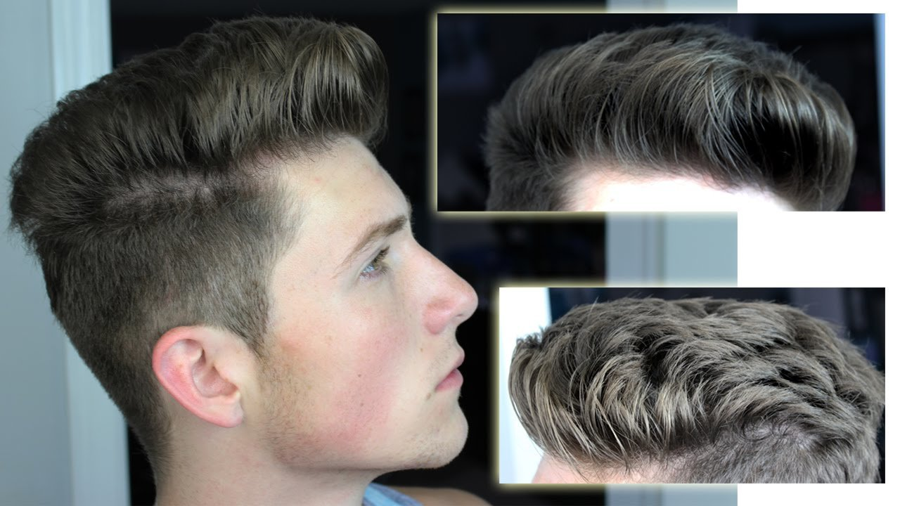 New Messy Pompadour Mens Hair Tutorial Hairstyle Youtube Ideas With Pictures