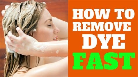 New 6 Tips How To Get Hair Dye Out Of Hair How Can I Remove Ideas With Pictures