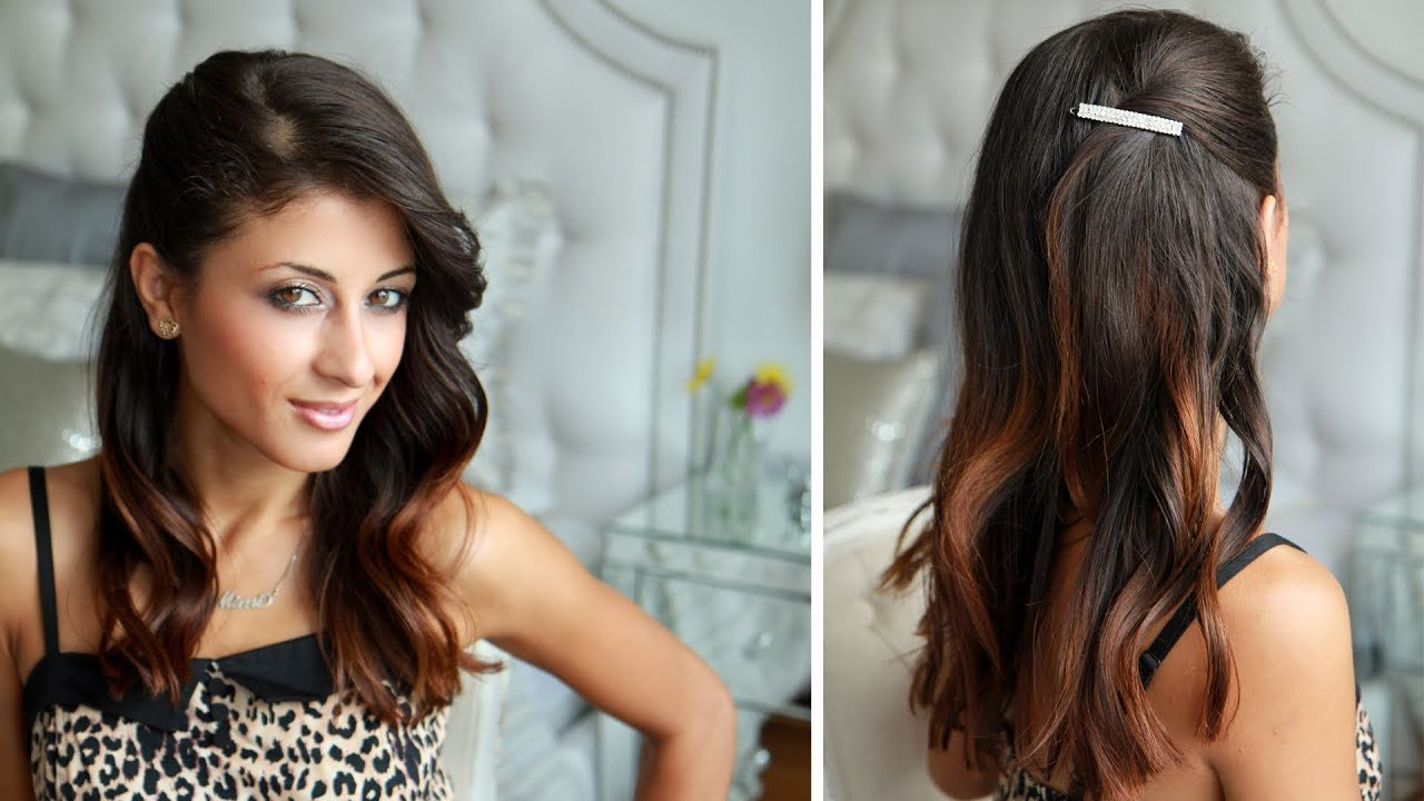 New Celebrity Side Pinned Hairstyle Youtube Ideas With Pictures