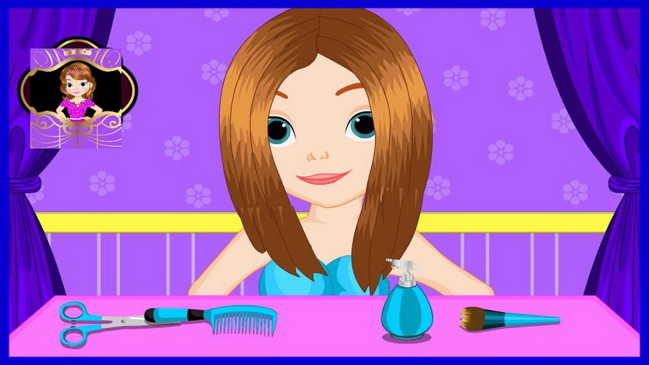 New Sofia The First Great Haircut Game Episode Disney Princess Ideas With Pictures