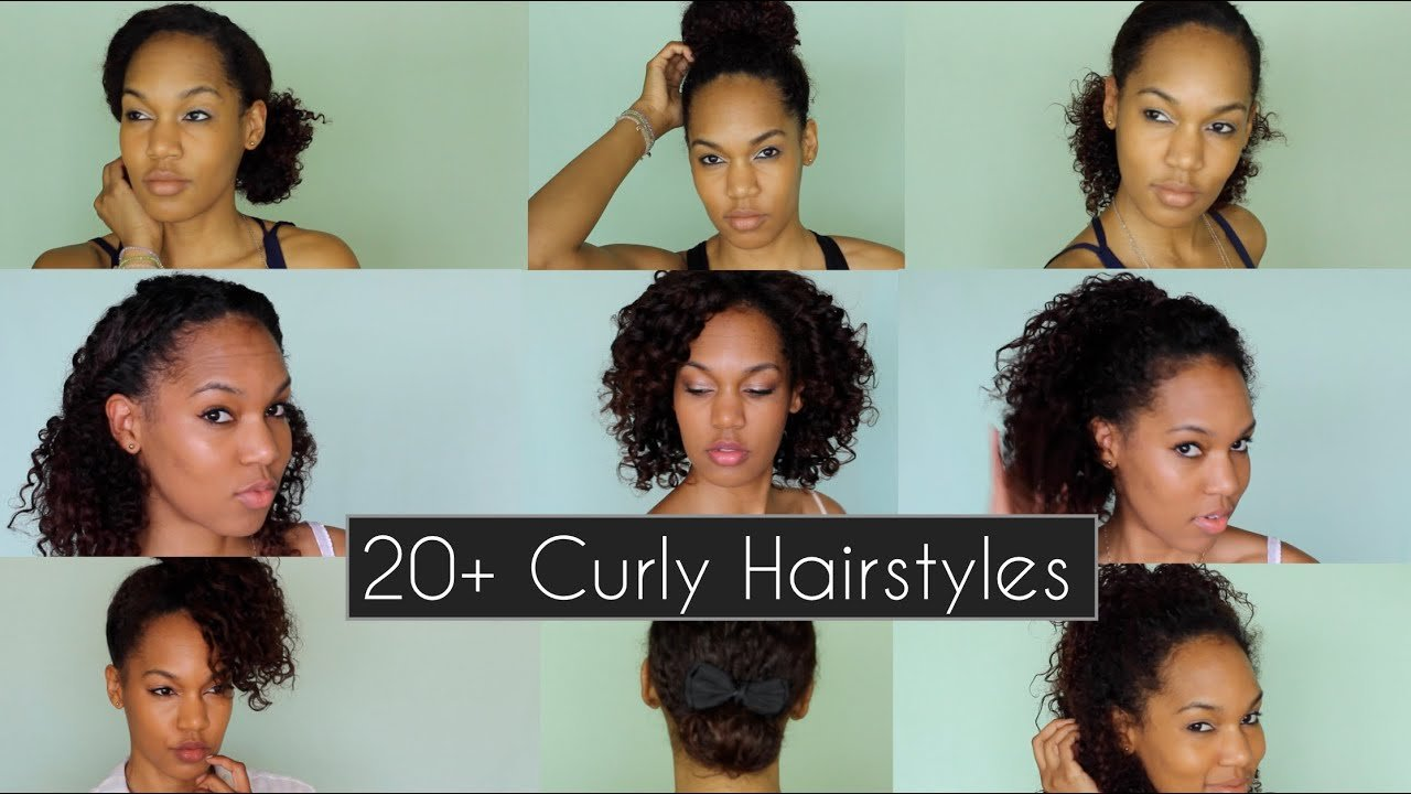 New 20 Quick Chic Curly Hairstyles For Everyday Nights Ideas With Pictures