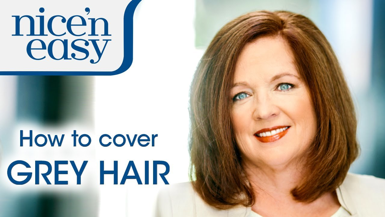 New Home Hair Dye Tips How To Cover Stubborn Grey Hair Nice Ideas With Pictures