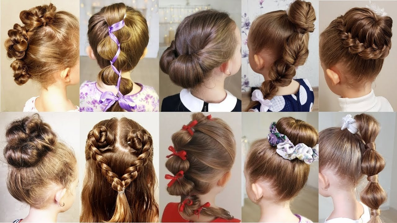 New 10 Cute 1 Minute Hairstyles For Busy Morning Quick Easy Hairstyles For School Youtube Ideas With Pictures