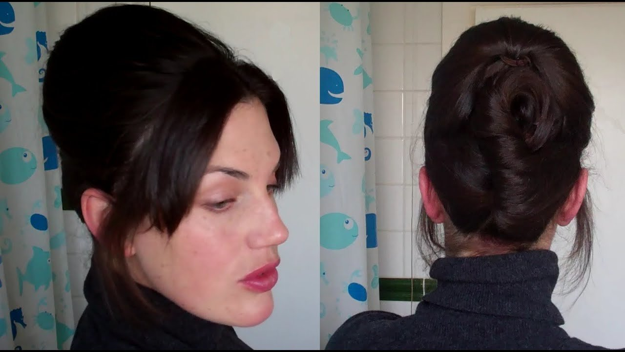 New Hotd 11 Easy Beehive Updo No Teasing Hairstyle 60 S Ideas With Pictures