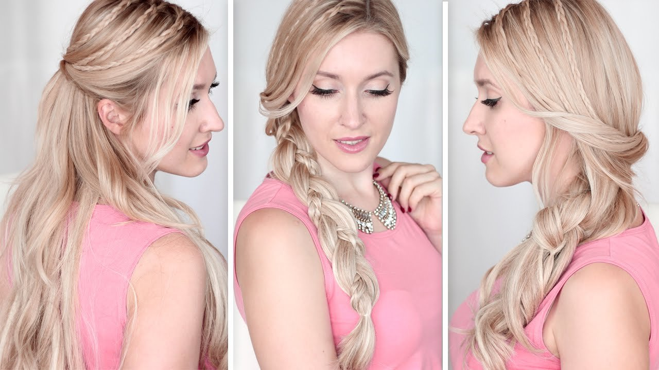 New Long Hair Tutorial Running Late Hairstyles For School Ideas With Pictures