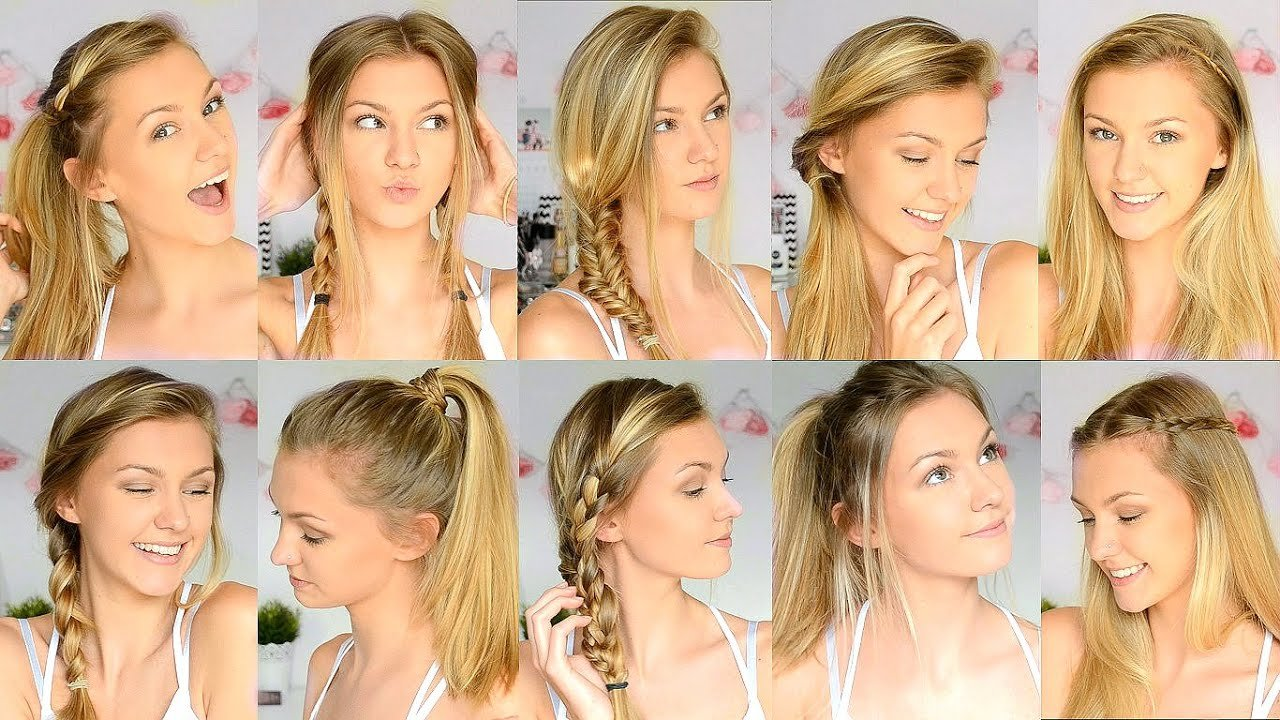 New 10 Easy Back To School Hairstyles Youtube Ideas With Pictures