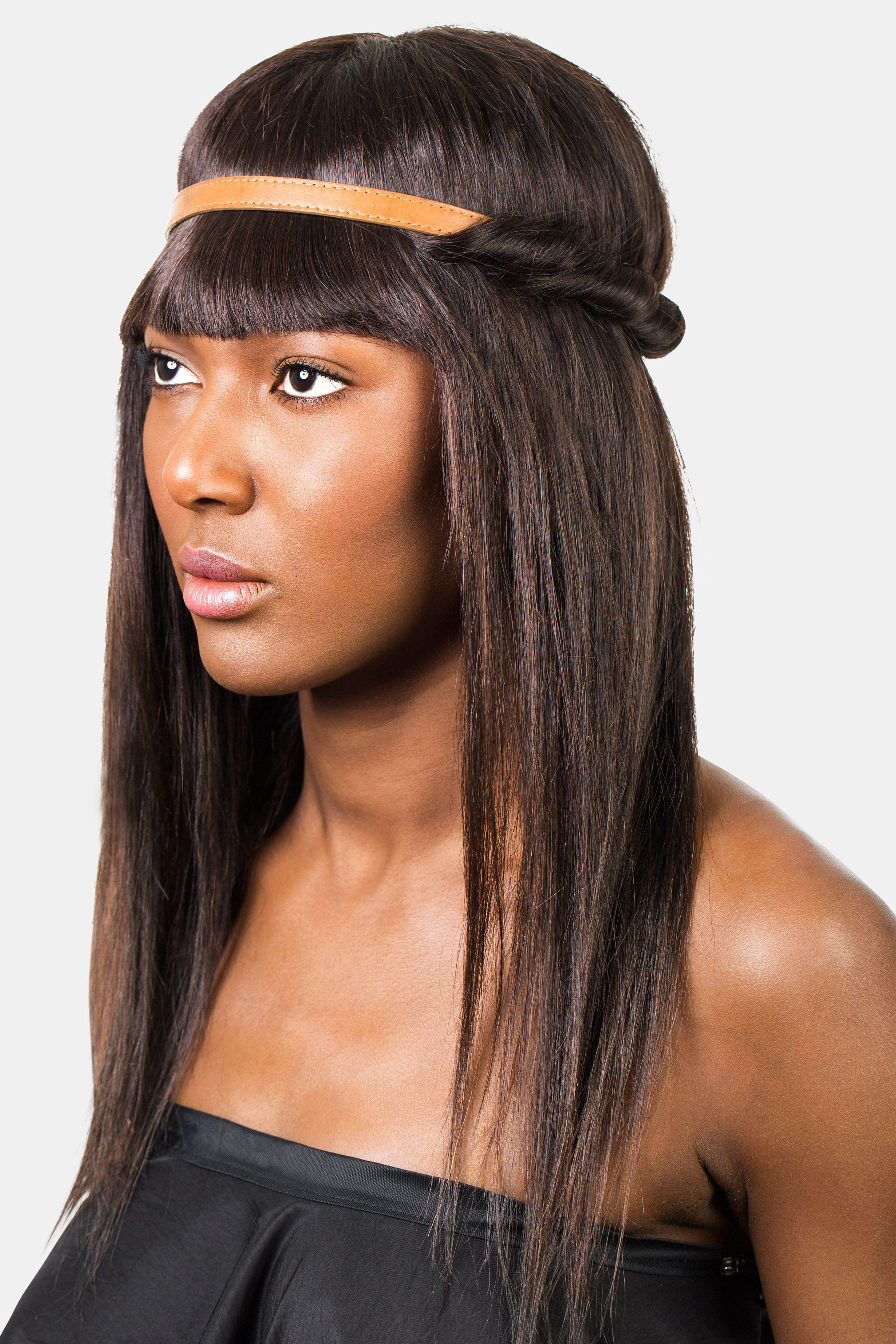 New How To Style Bangs 5 Hairstyles To Keep Your Bangs Out Ideas With Pictures