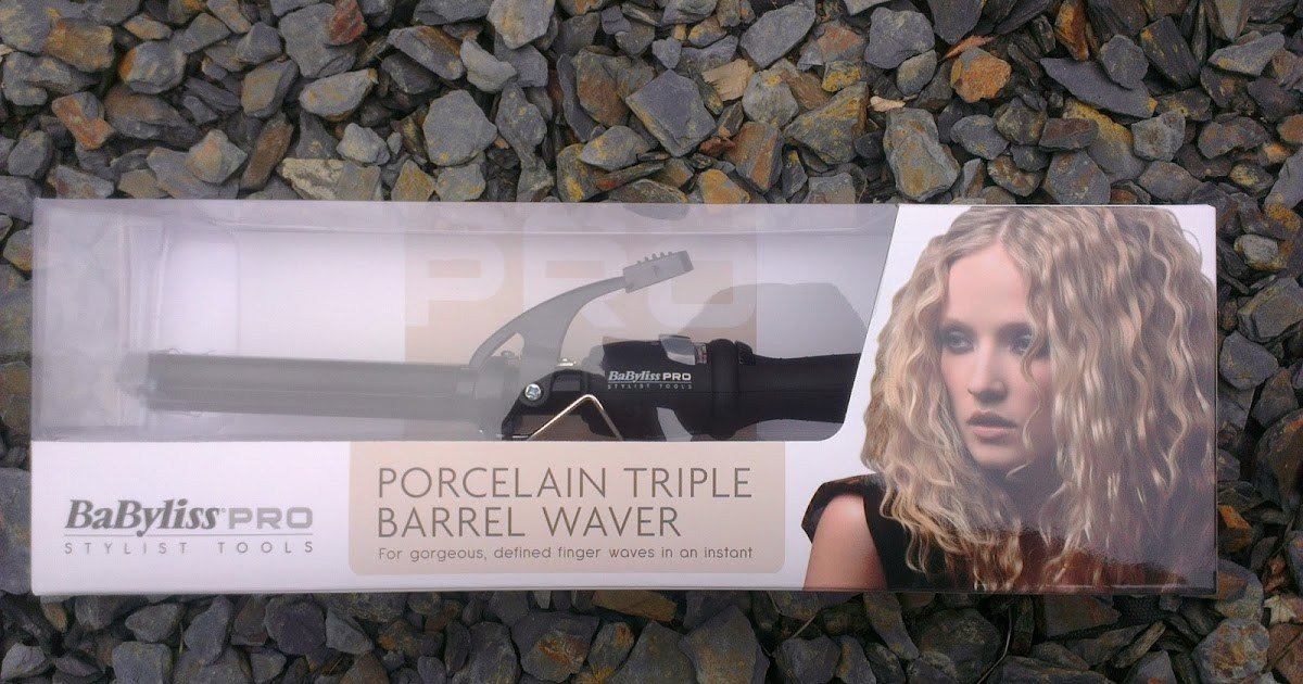 New Review Babyliss Porcelain Triple Barrel Waver Heidi Likes Ideas With Pictures