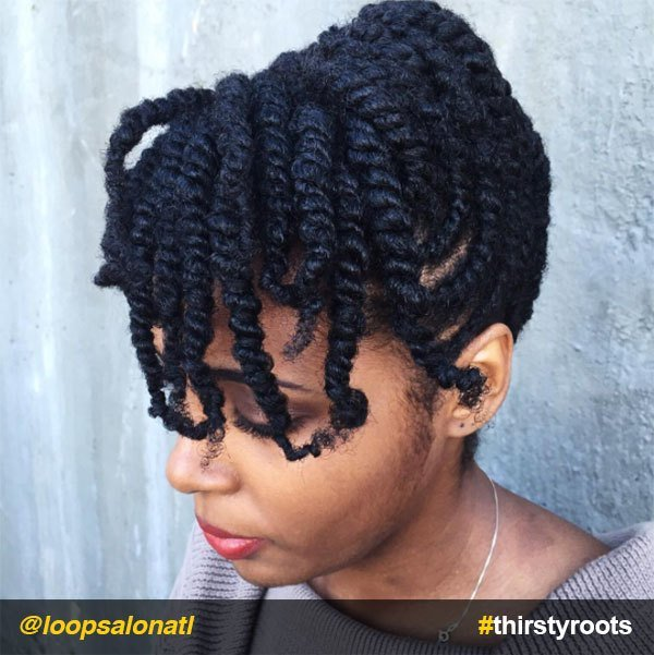 New 13 Natural Hair Updo Hairstyles You Can Create Ideas With Pictures