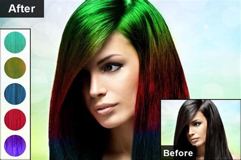 New Hair Color Changer Para Android Apk Baixar Ideas With Pictures