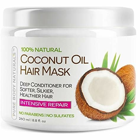 New Coconut Oil Hair Mask Deep Conditioning Hair Treatment Ideas With Pictures